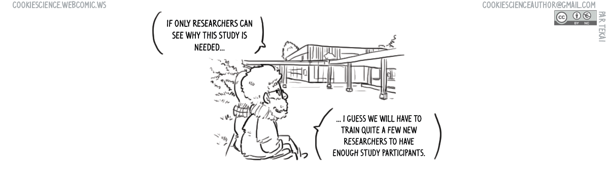 1082 - If everyone was a researcher we could...