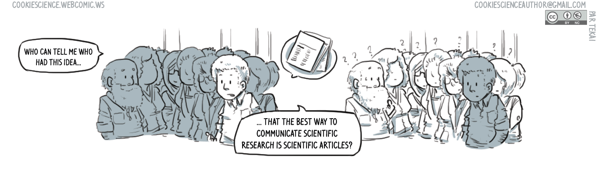 997 - An old idea: Scientific studies to communicate research