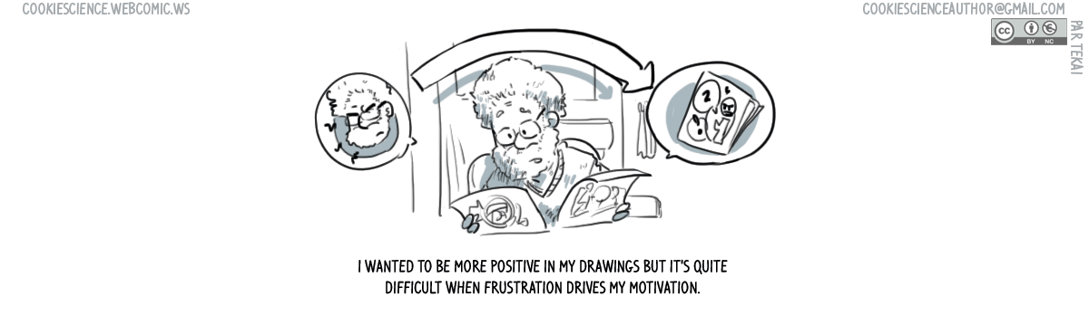 989 - Frustration flows into the comics