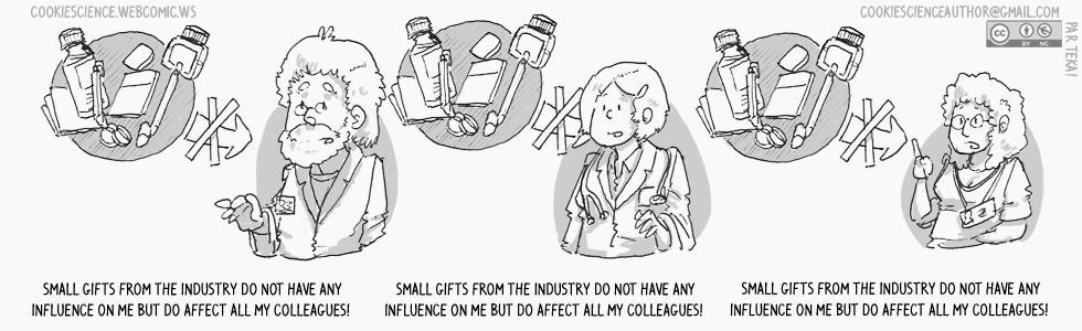 928 - Gifts from the industry do not influence mypractice