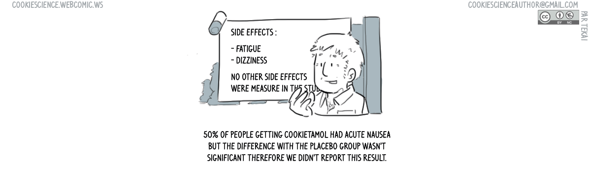 "682 - ""Non-significant"" side effects go unreported"