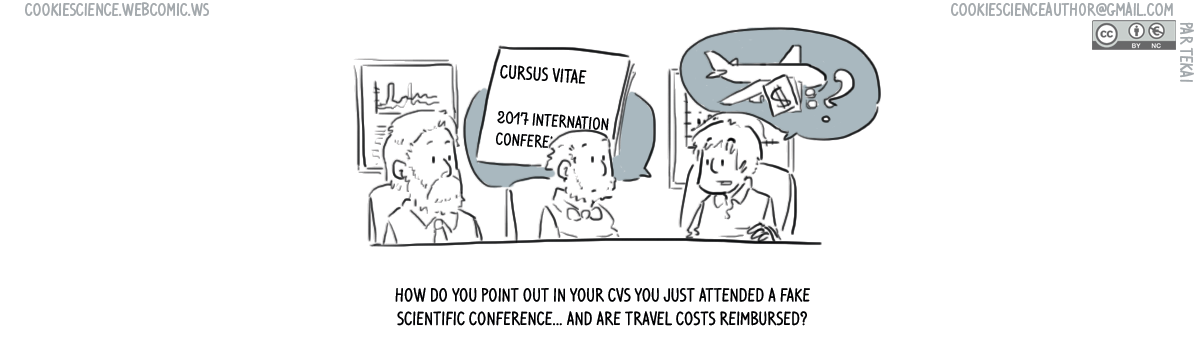 672 - Fake conferences, true costs