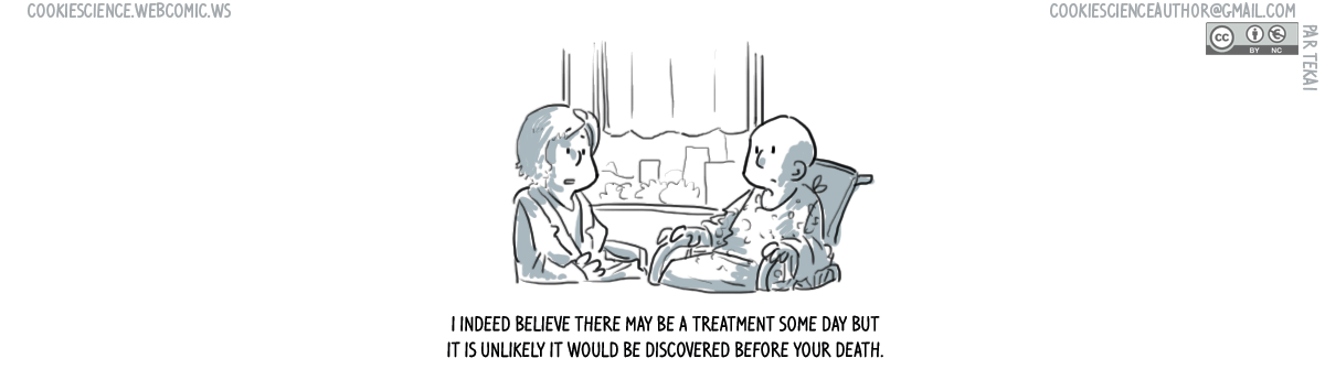 656 - A treatment is on the horizon (but you shouldn't expect it)
